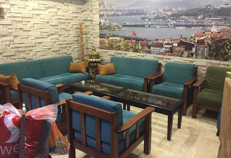 Hotel Malkoc, Istanbul, Priestory na sedenie v hale