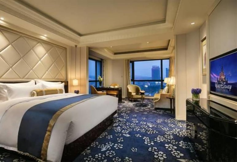 The Pury Hotel Yiwu, Jinhua, Classic Queen Room, Guest Room