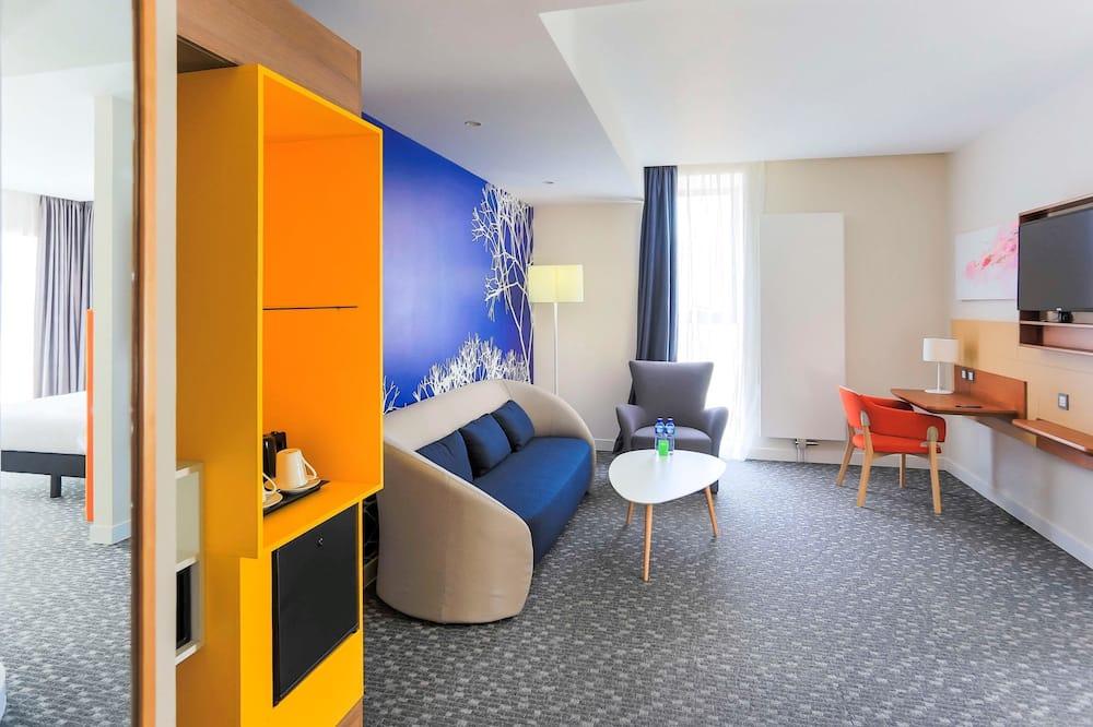 ファミリー スイート ダブルベッド 2 台 コネクティングルーム (Standard) - 客室