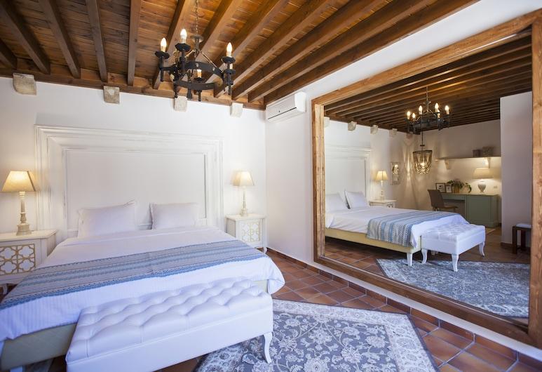 Saint Artemios Hotel and Oriental Suites, Rhodos, Tweepersoonskamer, terras, Kamer