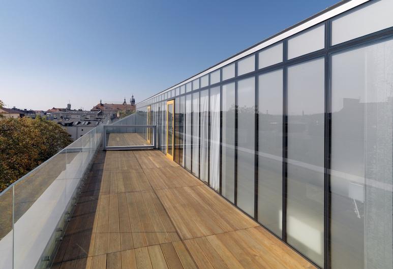 INX Design Hotel, Krakau, Panoramic-Suite, Terrasse, Terrasse/Patio