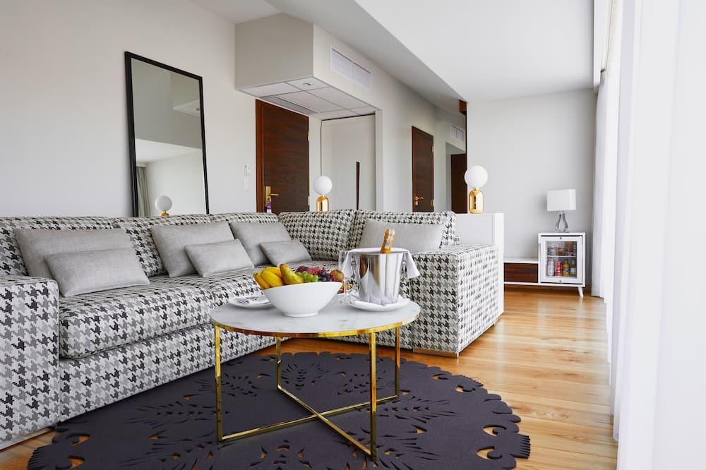 Apartament typu Panoramic Suite, taras - Powierzchnia mieszkalna