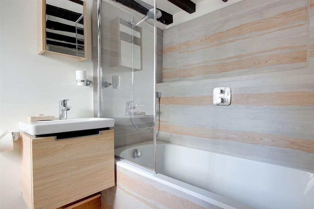 Rekreačná chata typu Deluxe, súkromná kúpeľňa - Kúpeľňa