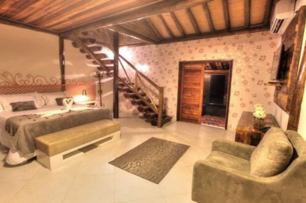 Suite Duplex Fireplace - Guest Room