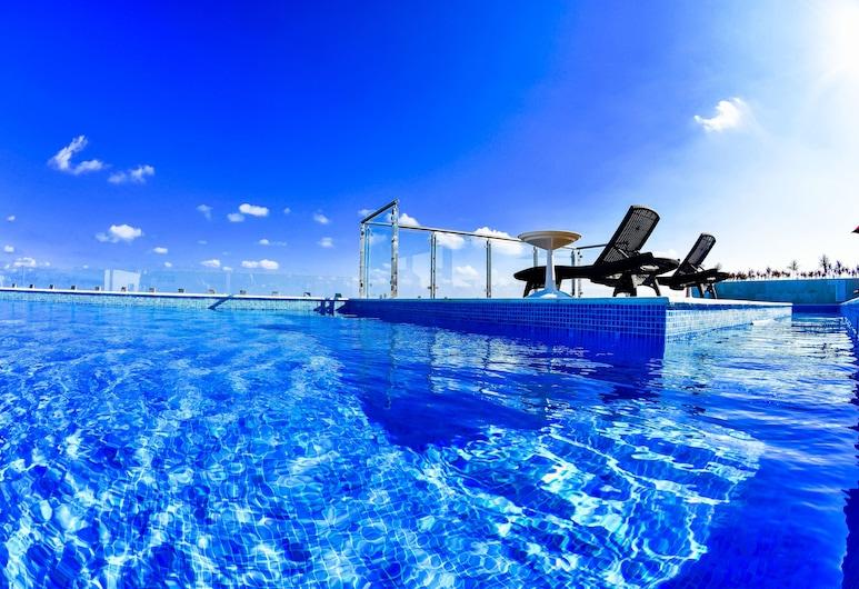 50 號大套房飯店, 卡曼海灘, 室外游泳池