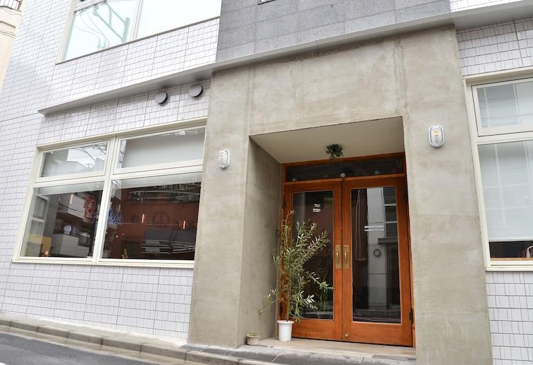 almond hostel & cafe Shibuya, Tokyo, Hotel Front
