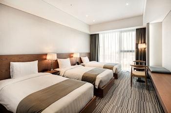 仁川仁川機場金鬱金香套房飯店的相片