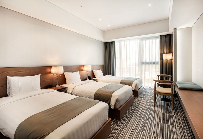Golden Tulip Incheon Airport Hotel & Suites, Incheon, Chambre Triple Standard, Chambre