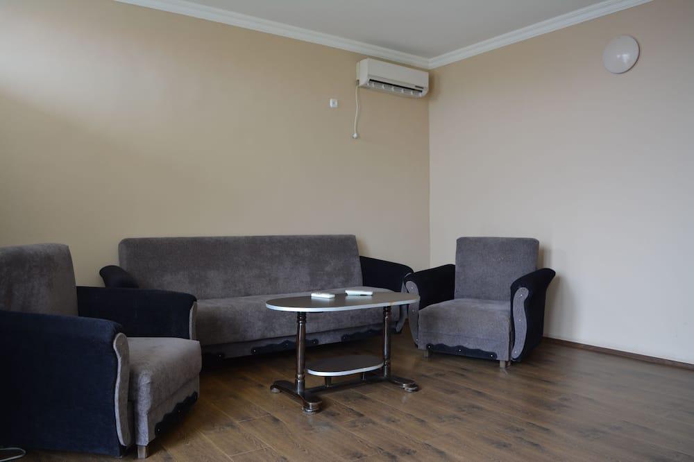 套房, 1 張標準雙人床 - 客廳