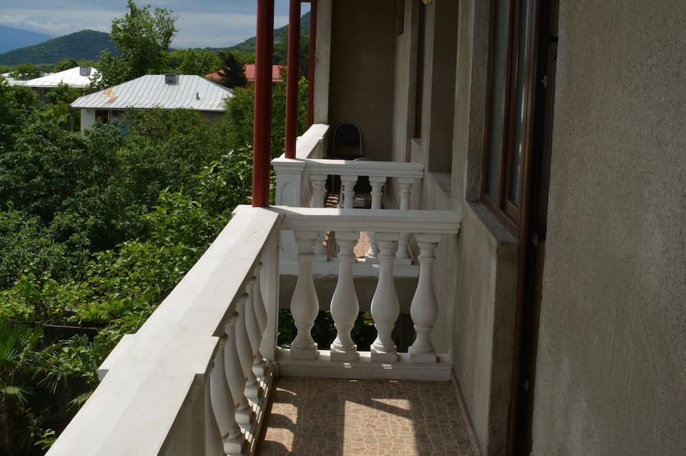 套房, 1 張標準雙人床 - 陽台