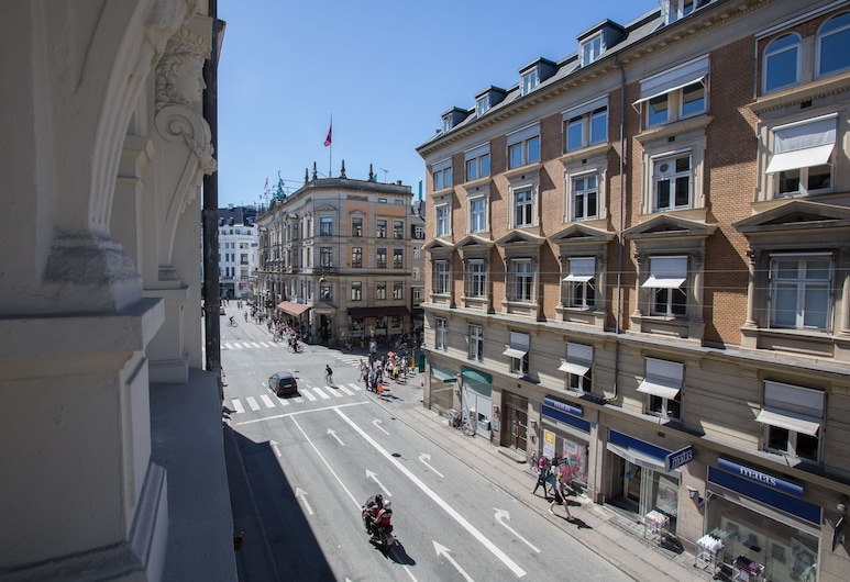 Designer-home 50m. from Nyhavn, Kodaň, Designový apartmán, 2 ložnice, výhled na město, Výhled zpokoje