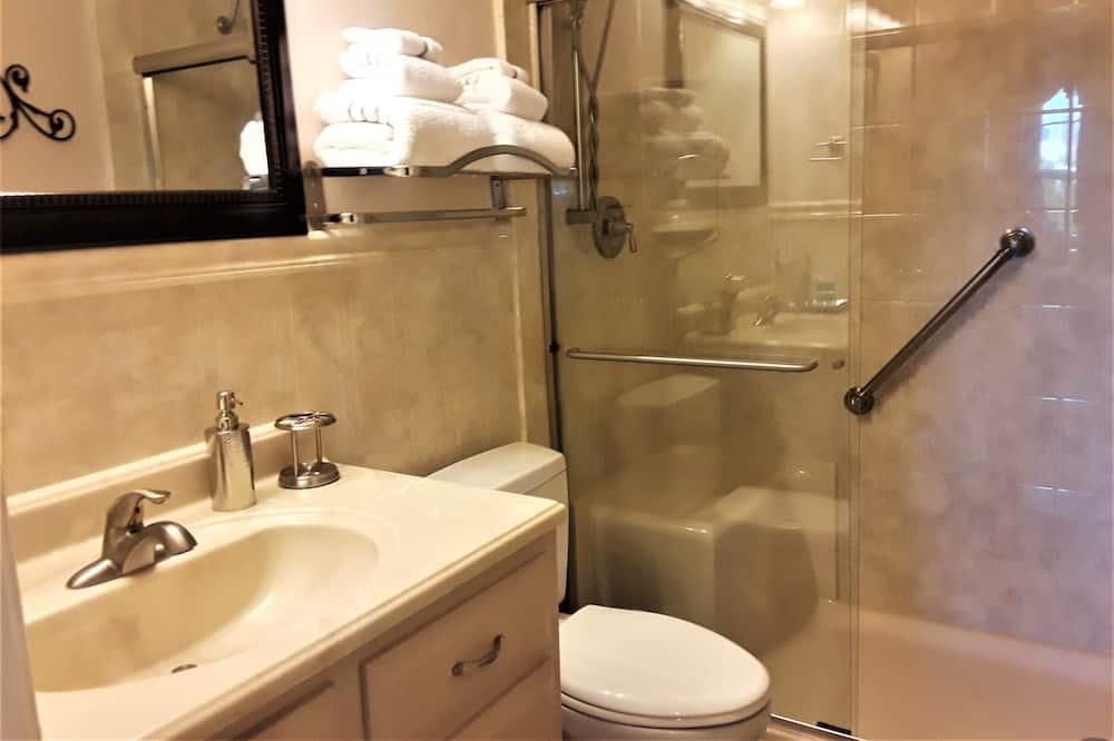 Standartinio tipo kambarys, 1 didelė dvigulė lova, atskiras vonios kambarys (Chayil) - Vonios kambarys