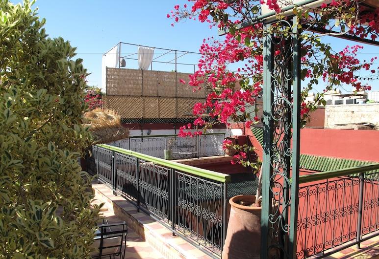 里亞德達爾塔姆酒店, 馬拉喀什, 陽台