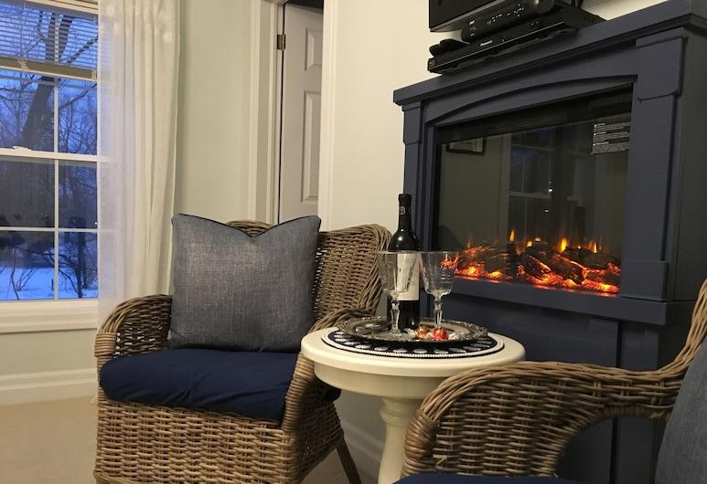 Darlington House Bed and Breakfast, Niagara-on-the-Lake, Klasikinio tipo kambarys, 1 miegamasis, vaizdas į parką, Svečių kambarys