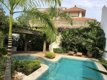 Picture of Villa Maria Bed and Breakfast in Puerto Escondido