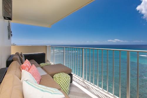 ダイヤモンドヘッドビーチホテルのハワイのゴールドコーストにある14階のペントハウス/