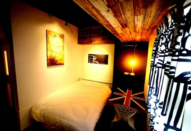 彩虹巢, 台中市, 都會雙人房單人入住, 1 張標準雙人床, 客房
