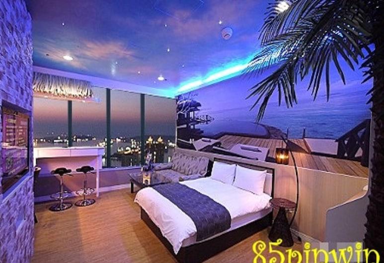 85 Pin Win Hotel, Каошіунь, Стандартний номер, з видом на море, Номер