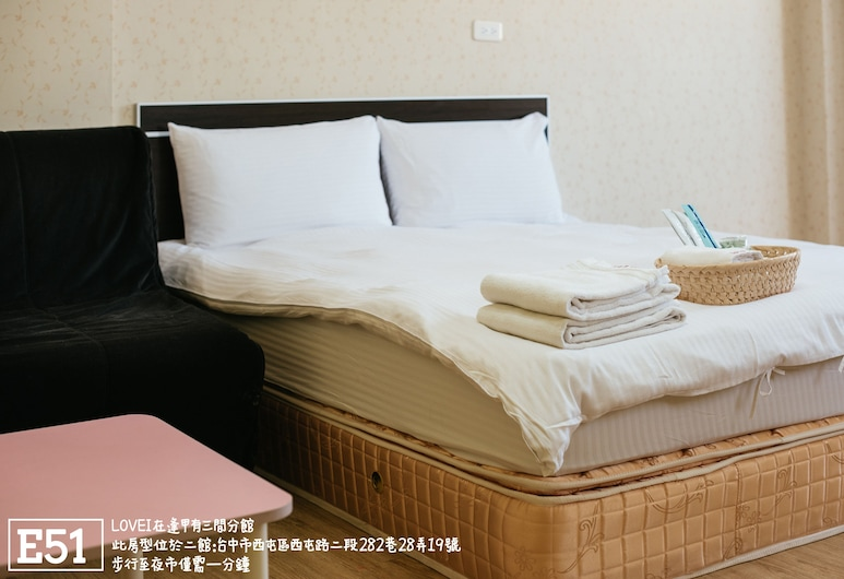 Love I, Taichung, Comfort Double Room, Guest Room
