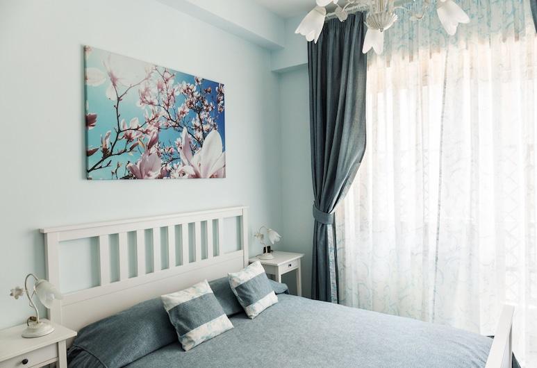 Floreo Roma II, Ρώμη, Δίκλινο Δωμάτιο (Double), Μπαλκόνι (Magnolia), Δωμάτιο επισκεπτών