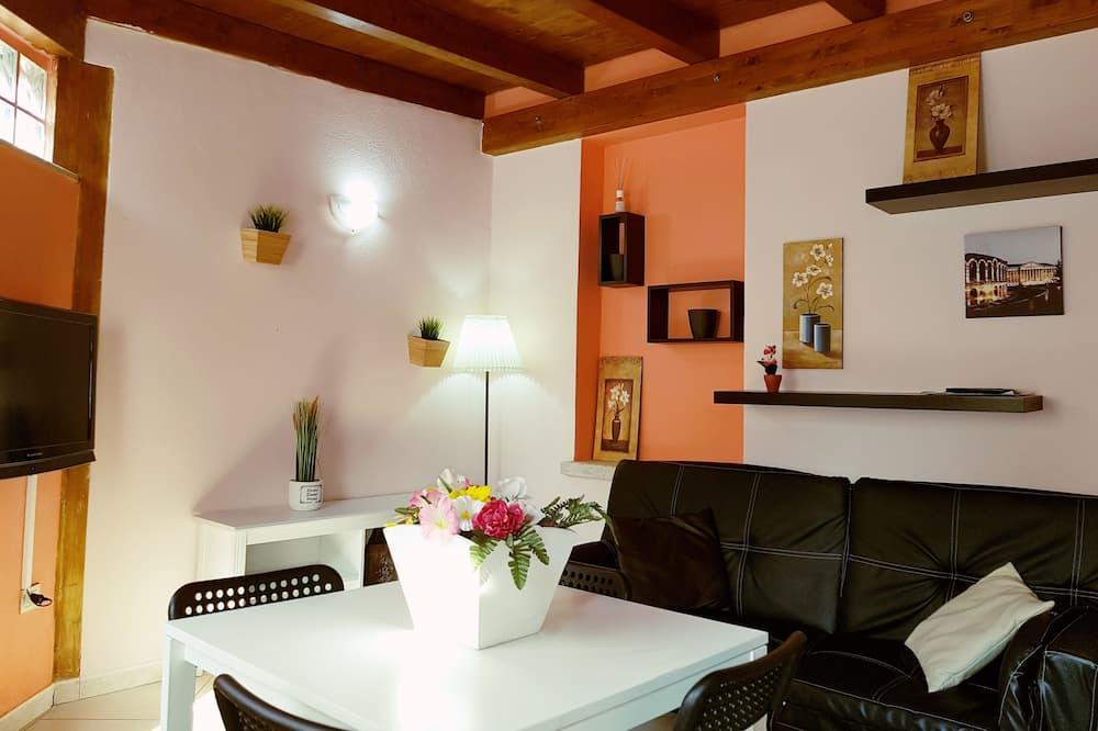 Apartamento Exclusivo, 2 Quartos, Acessível, Cozinha - Área de Estar