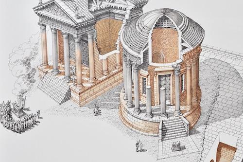 Au temple de Vesta