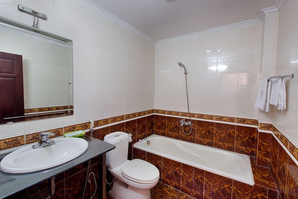 Quarto Duplo Deluxe - Casa de banho