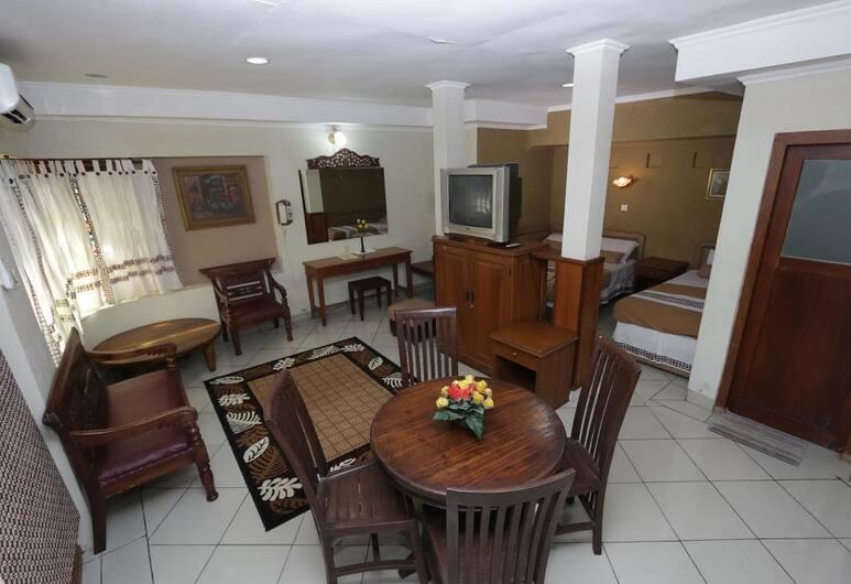 ホテル マタラム マリオボロ, ジョグジャカルタ, スタジオ, リビング エリア