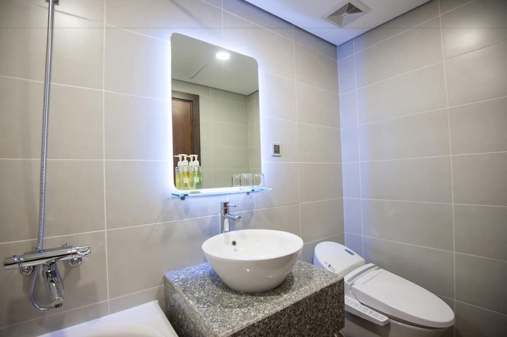 Executive-Doppelzimmer, 1King-Bett - Badezimmer