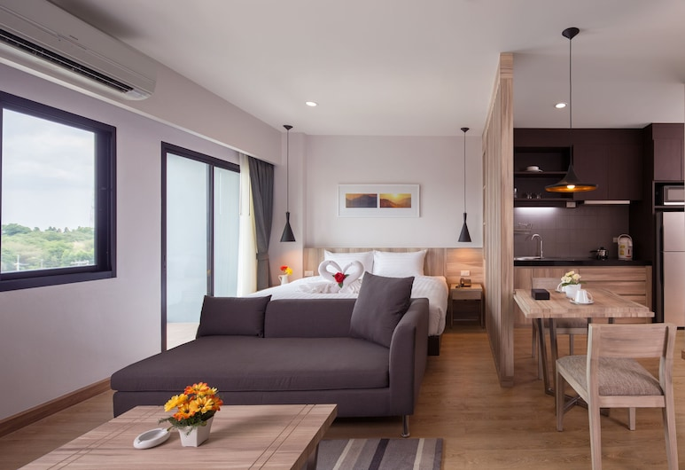 The Canal 304, Si Maha Phot, Luxury Suite Double Room, Oda