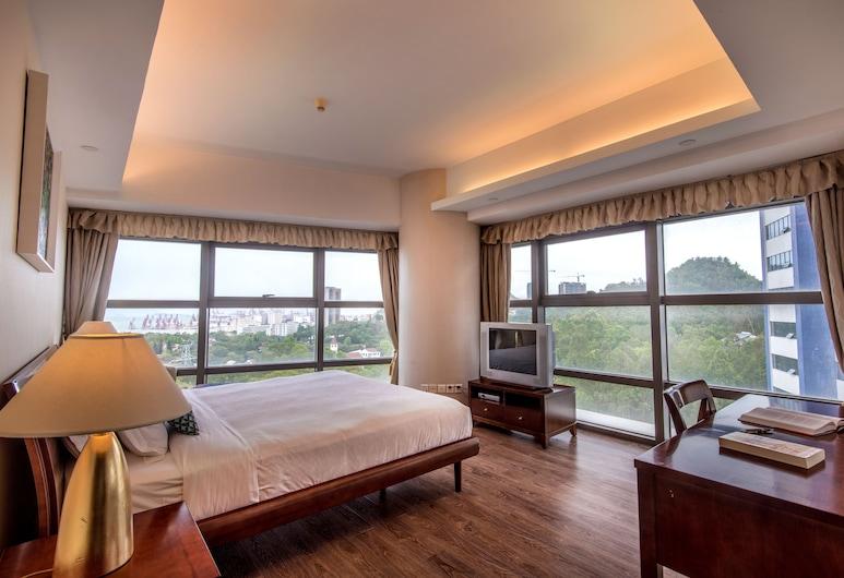 CM+ Service Apartment Shenzhen Taige, Shenzhen, Apartmán typu Deluxe, 2 ložnice, Interiér