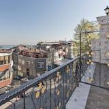 Deluxe tweepersoonskamer, Balkon, Uitzicht op zee - Balkon
