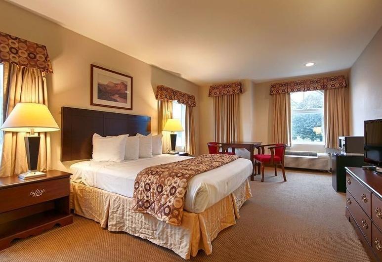 Garden State Inn, Absecon, Standartinio tipo kambarys, 1 labai didelė dvigulė lova, Rūkantiesiems, sūkurinė vonia, Svečių kambarys