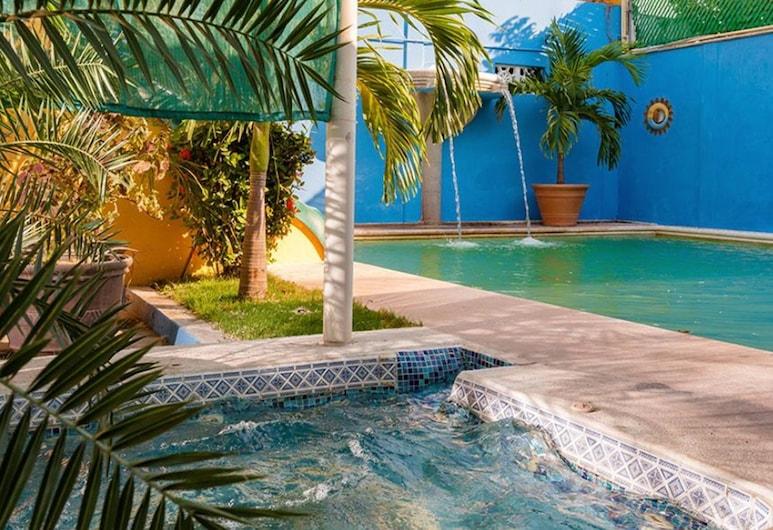 Hotel Acuario Ciudad del Carmen, Ciudad del Carmen, Venkovní bazén