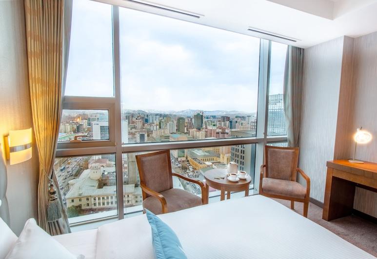 Blue Sky Hotel & Tower, Ulaanbaatar, Quarto Twin Deluxe, 2 camas queen-size, Quarto