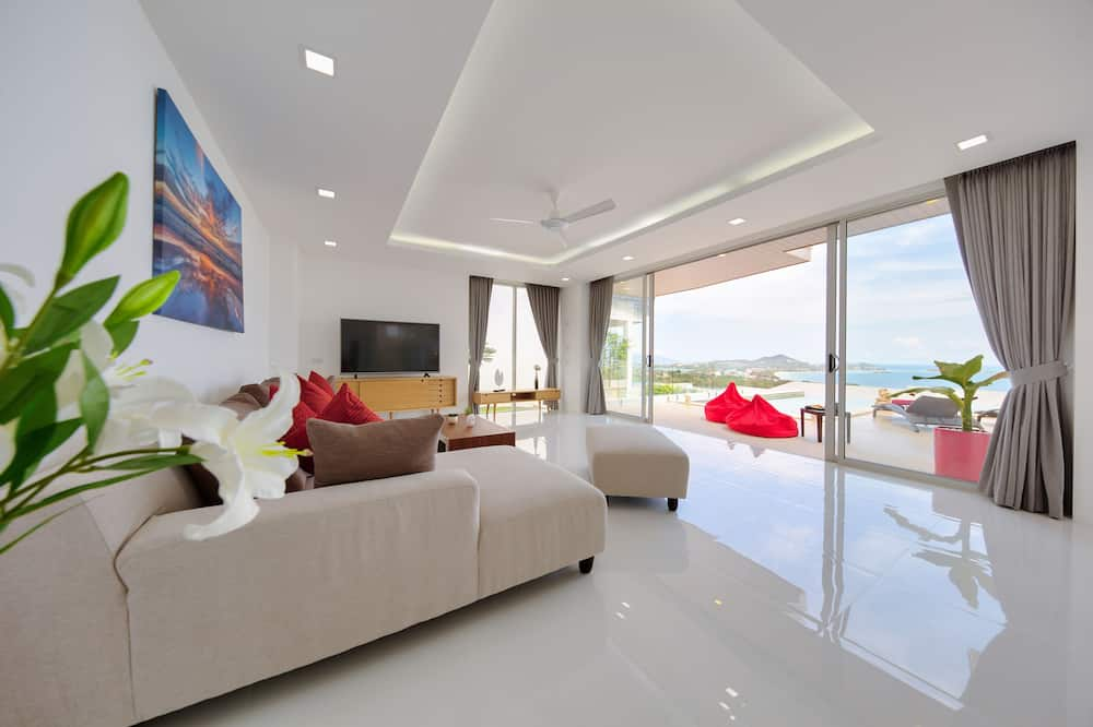 3 Bedrooms Villa with Private Pool  - Wohnzimmer
