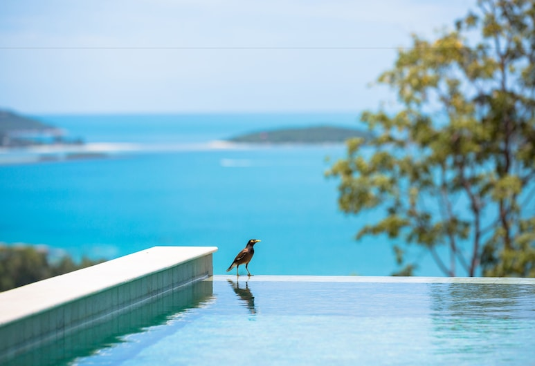 Modern styled 3 BR pool Orchid Villa, Koh Samui, 3 Bedrooms Villa with Private Pool, View from room
