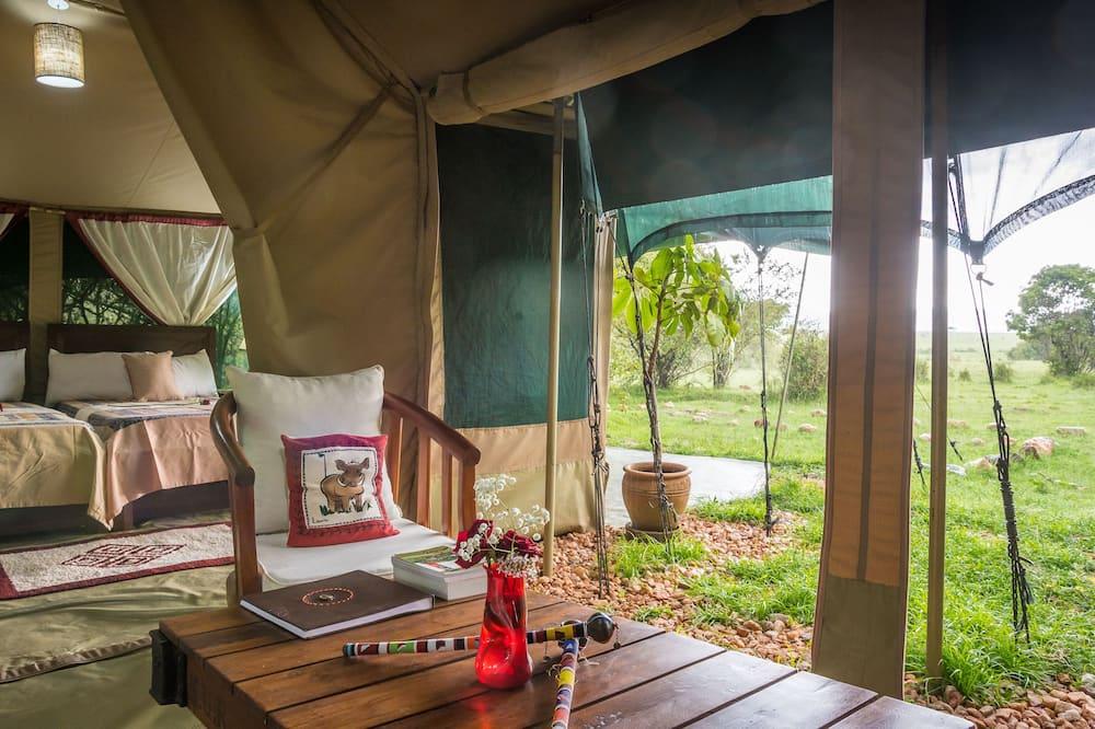 Comfort Çadır, 1 Yatak Odası, Engellilere Uygun - Oturma Alanı