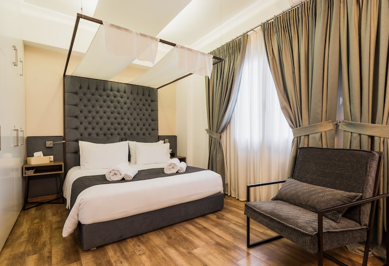 Acropolis Executive Suite, Athens, Executive Apartment, 1 Queen Bed with Sofa bed, Balcony, Room
