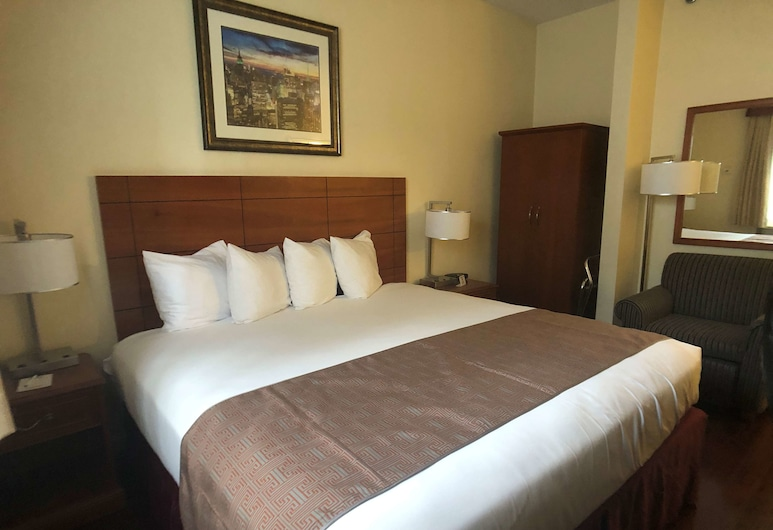 Best Western Jamaica Inn, Jamaika, Standartinio tipo kambarys, 1 labai didelė dvigulė lova, Nerūkantiesiems, mikrobanginė krosnelė, Svečių kambarys