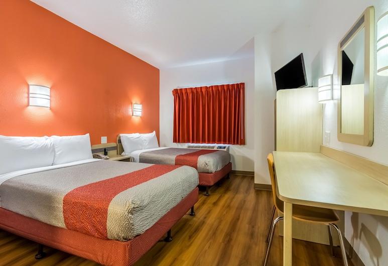 南卡羅萊納米爾堡 - 夏洛特 6 號汽車旅館, 米爾堡, 標準客房, 2 張標準雙人床, 非吸煙房, 客房