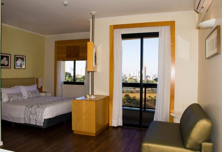 بلو تري تاورز أناليا فرانكو - تاتوابيه, ساو باولو, غرفة تننفيذية مزدوجة (View of Parque Ceret), غرفة نزلاء