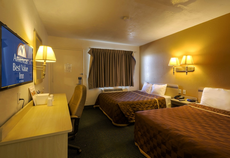Americas Best Value Inn Amarillo Airport, Amarillo, Room, 2 Double Beds, Non Smoking, Guest Room