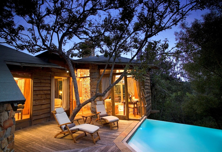Tsala Treetop Lodge, Plettenberg Bay, Suite, Außenpool