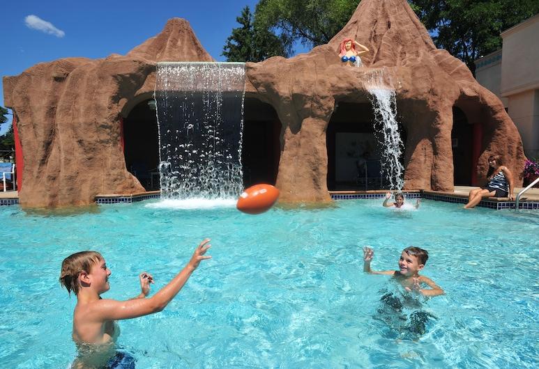 Atlantis Waterpark Hotel & Suites, Висконсин-Деллс, Водная горка