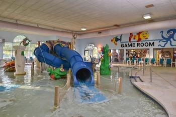 Foto van Atlantis Waterpark Hotel & Suites in Wisconsin Dells