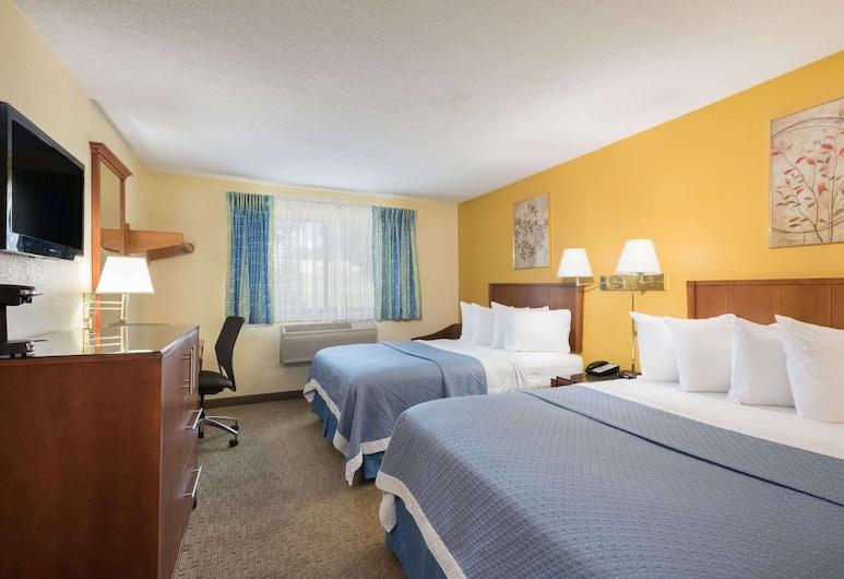 Days Inn by Wyndham Greenfield, Greenfield, Habitación, 2 camas dobles, para no fumadores, Habitación