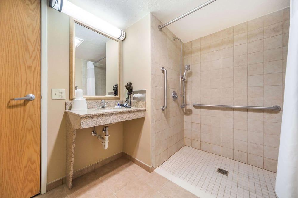 客房, 1 張加大雙人床, 無障礙, 非吸煙房 - 浴室