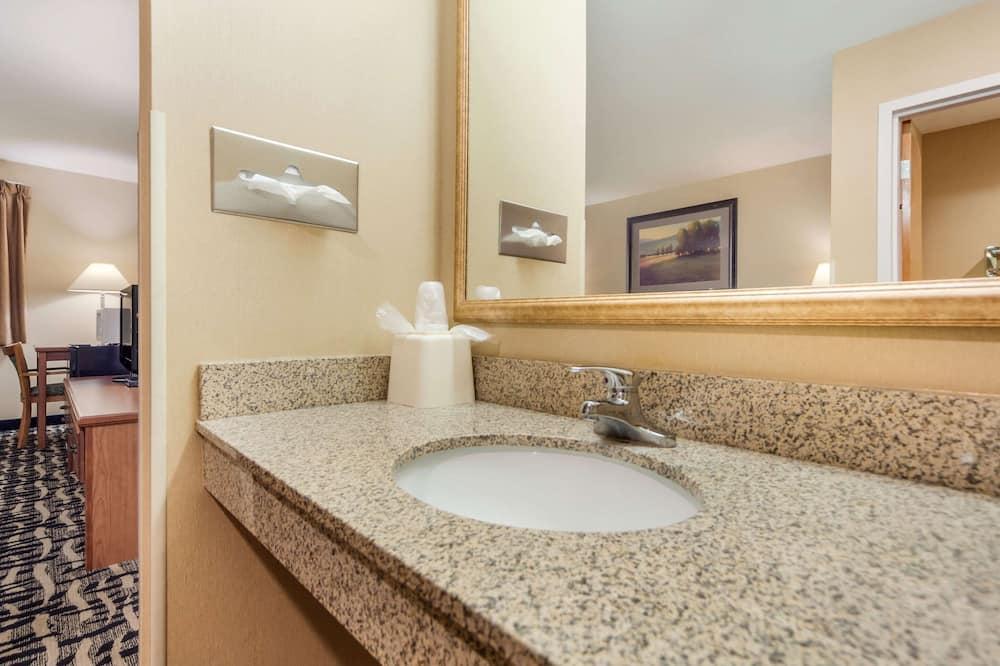 標準客房, 1 張特大雙人床, 非吸煙房 - 浴室