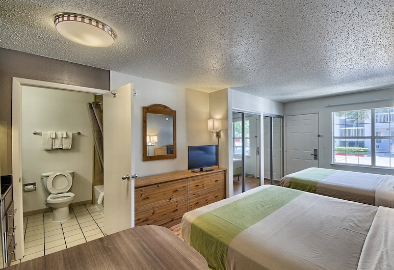 Studio 6 San Antonio, TX - Six Flags, San Antonijas, Standartinio tipo kambarys, 2 didelės dvigulės lovos, Nerūkantiesiems, Svečių kambarys